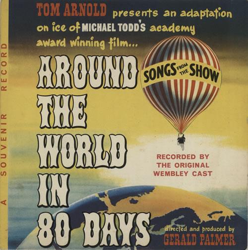 "Iris Villiers Around The World In 80 Days 7"" vinyl single (7 inch record) UK IR607AR575839"