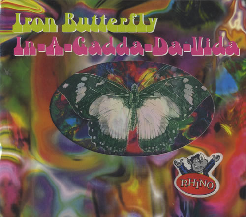 Iron butterfly in-a-gadda-da-vida deluxe edition usa cd album.