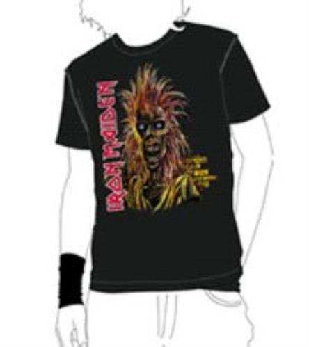 Iron Maiden 1st Album Vintage T-Shirt - XL t-shirt UK IROTSST360365