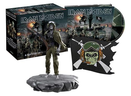 Iron Maiden A Matter Of Life And Death - Sealed Collectors Box CD Album Box Set UK IRODXAM734100