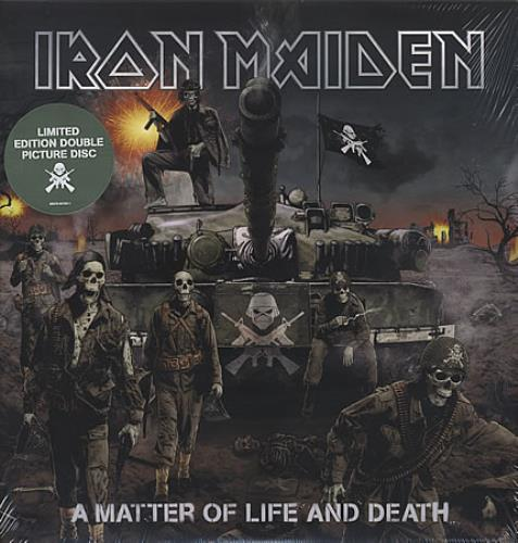 Iron Maiden A Matter Of Life And Death picture disc LP (vinyl picture disc album) US IROPDAM393361