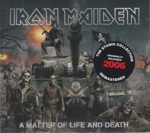 Iron Maiden A Matter Of Life And Death CD album (CDLP) UK IROCDAM734099