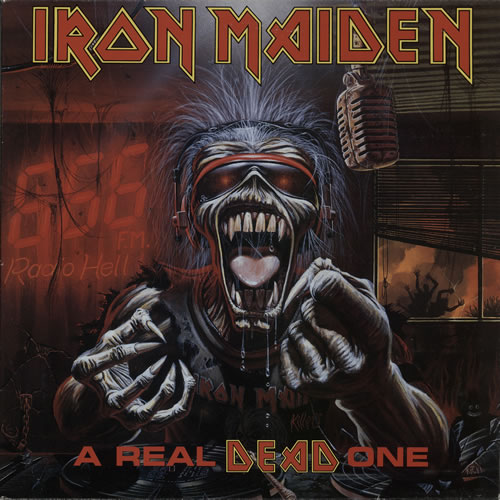 Iron Maiden A Real DEAD One vinyl LP album (LP record) UK IROLPAR229833