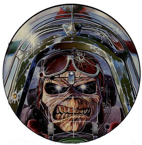 Iron Maiden Aces High Uk 12 Quot Vinyl Picture Disc 12inch