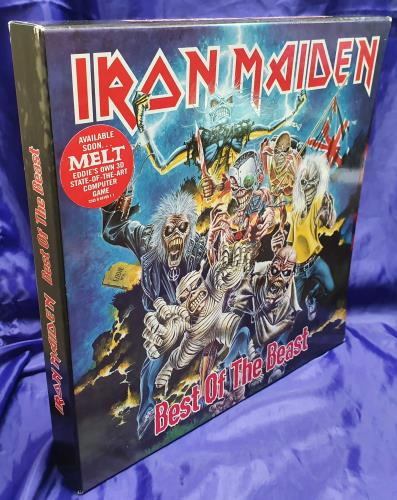 Iron Maiden Best Of The Beast - EX box set UK IROBXBE739354