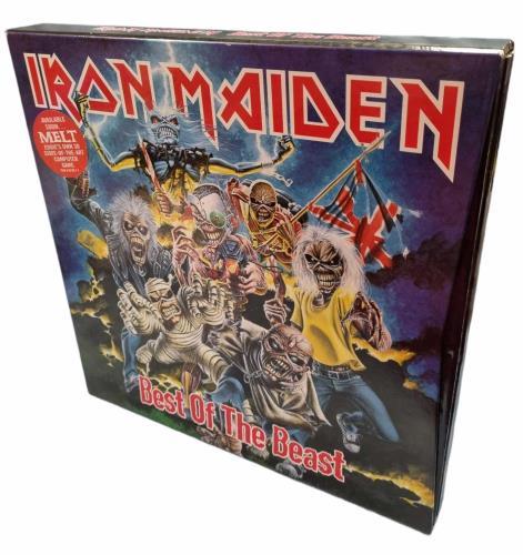 Iron Maiden Best Of The Beast - Mint Vinyl Box Set UK IROVXBE79568