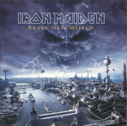 Iron Maiden Brave New World - 180 Gram - HMV - Sealed 2-LP vinyl record set (Double Album) UK IRO2LBR695462
