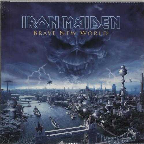 Iron Maiden Brave New World - 180gram Vinyl - Sealed 2-LP vinyl record set (Double Album) UK IRO2LBR675433