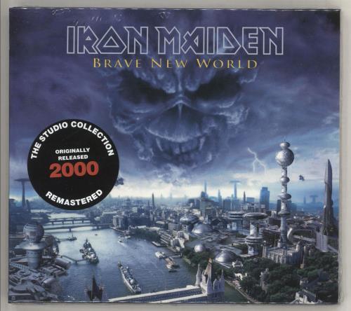 Iron Maiden Brave New World - Sealed CD album (CDLP) UK IROCDBR726968