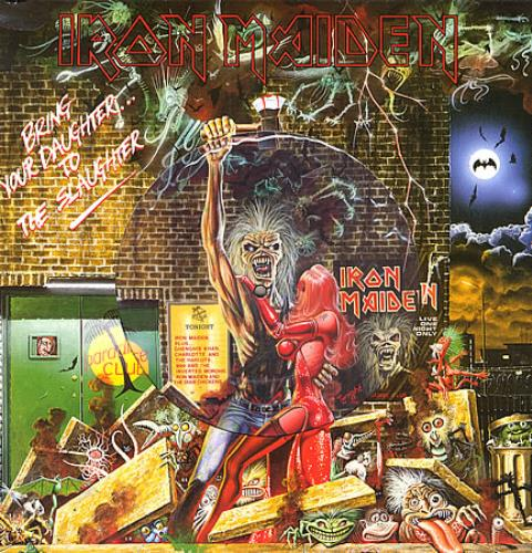 "Iron Maiden Bring Your Daughter To The Slaughter - P/S 12"" vinyl picture disc 12inch picture disc record UK IRO2PBR00687"