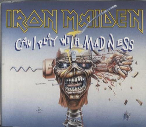 """Iron Maiden Can I Play With Madness - Non Picture CD CD single (CD5 / 5"""") UK IROC5CA63879"""