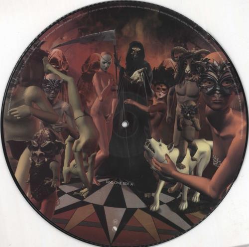 Iron Maiden Dance Of Death - VG picture disc LP (vinyl picture disc album) UK IROPDDA724267