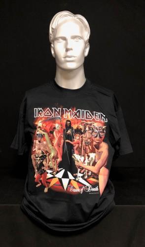 Iron Maiden Dance Of Death World Tour 2003 - Album Artwork - XL t-shirt UK IROTSDA720452