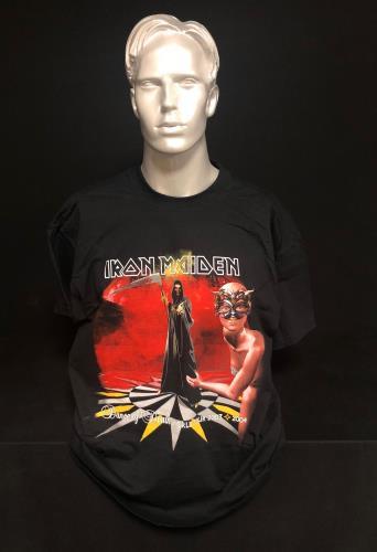 Iron Maiden Dance Of Death World Tour 2003 - XL t-shirt UK IROTSDA718113
