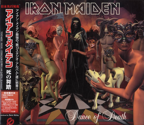 Iron Maiden Dance Of Death CD album (CDLP) Japanese IROCDDA249184