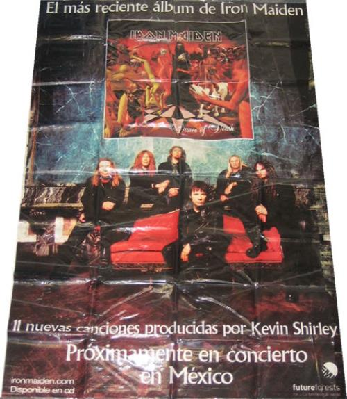 Iron Maiden Dance Of Death display Mexican IRODIDA258393