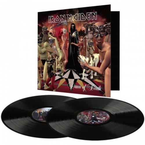 Iron Maiden Dance Of Death 2-LP vinyl record set (Double Album) UK IRO2LDA675435