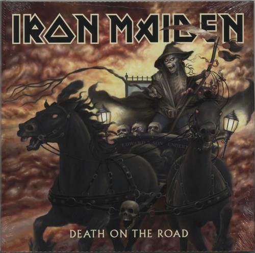 Iron Maiden Death On The Road - 180gram Vinyl + Sealed 2-LP vinyl record set (Double Album) UK IRO2LDE677708