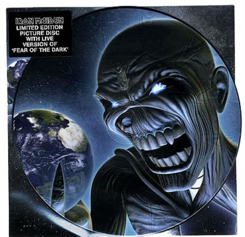 "Iron Maiden Different World - 1st Pressing, Thick Vinyl 7"" vinyl picture disc 7 inch picture disc single UK IRO7PDI383092"