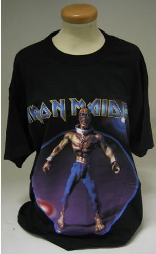 VINTAGE 1999 IRON MAIDEN Rare Ed Hunter Tour t-shirt