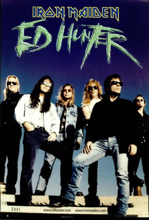 Iron Maiden Ed Hunter poster UK IROPOED514029