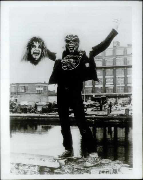 Iron Maiden Eddie Kills Ozzy photo photograph UK IROPHED548282