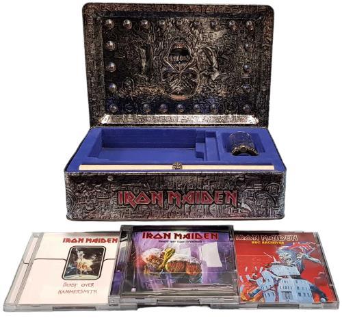 Iron Maiden Eddie's Archive - 1st issue box set UK IROBXED453634