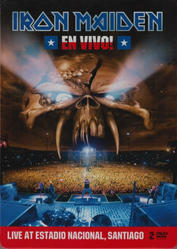 Iron Maiden En Vivo! DVD UK IRODDEN554094