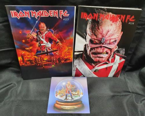 Iron Maiden Fanzines & T-Shirt fanzine UK IROFAFA749077