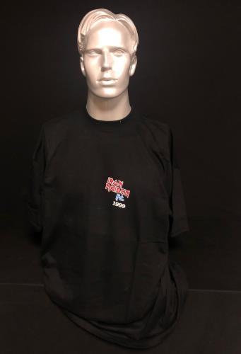 Iron Maiden FC 1999 t-shirt UK IROTSFC718108
