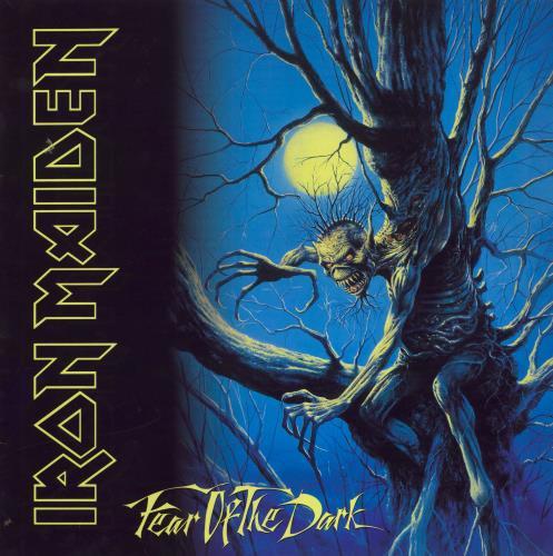Iron Maiden Fear Of The Dark - VG/EX 2-LP vinyl record set (Double Album) UK IRO2LFE713723