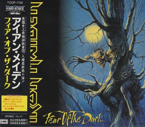 Iron Maiden Fear Of The Dark CD album (CDLP) Japanese IROCDFE03230
