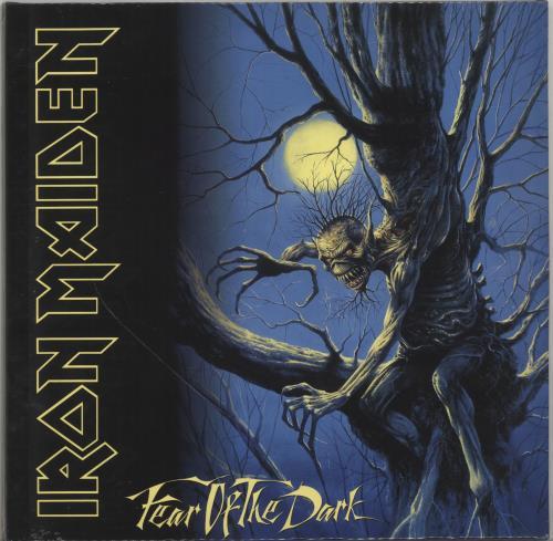 Iron Maiden Fear of the Dark 2-LP vinyl record set (Double Album) UK IRO2LFE700336
