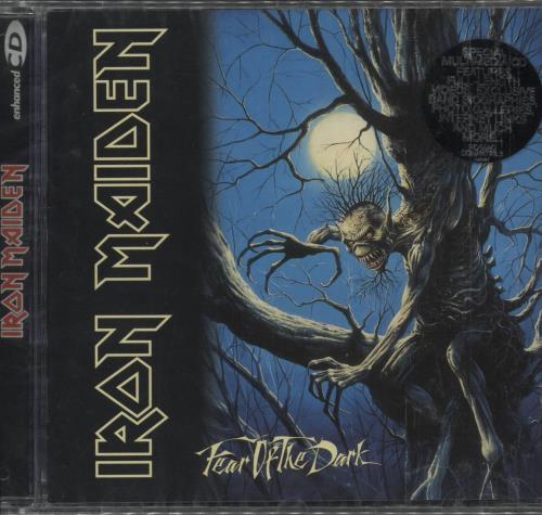 Iron Maiden Fear Of The Dark CD album (CDLP) UK IROCDFE715168