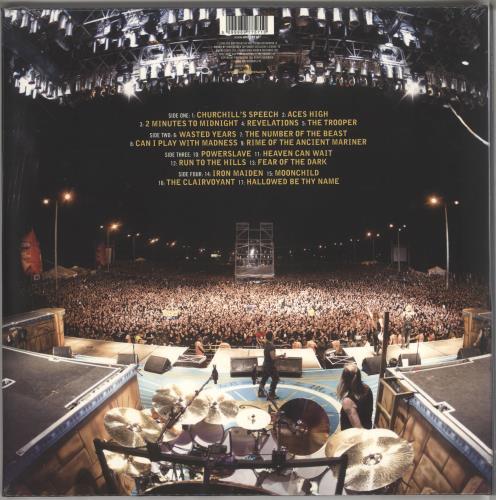 Iron Maiden Flight 666 - Sealed - EMI Records picture disc LP (vinyl picture disc album) UK IROPDFL724338