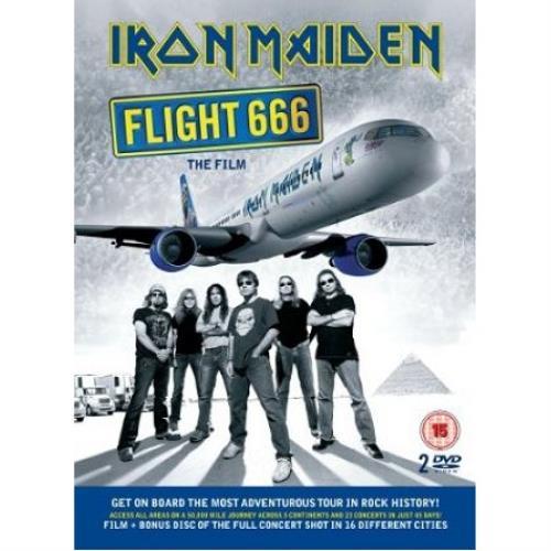 Iron Maiden Flight 666: The Film DVD UK IRODDFL467498