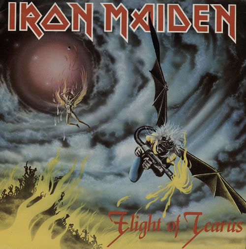 "Iron Maiden Flight Of Icarus - EX 7"" vinyl single (7 inch record) UK IRO07FL37563"