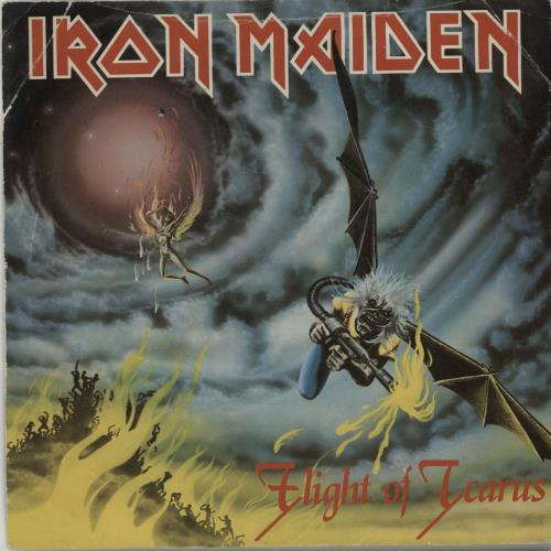 "Iron Maiden Flight Of Icarus - Inj - EX 7"" vinyl single (7 inch record) UK IRO07FL588228"