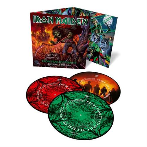 Iron Maiden From Fear To Eternity: The Best Of 1990 - 2010 picture disc LP (vinyl picture disc album) UK IROPDFR533564