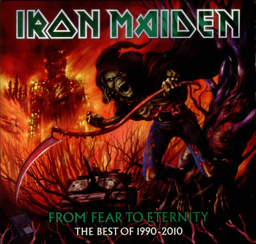 Iron Maiden From Fear To Eternity picture disc LP (vinyl picture disc album) US IROPDFR543608