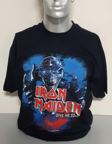 Iron Maiden Give Me Ed 'Til I'm Dead World Tour - Donnington - XL t-shirt UK IROTSGI715210