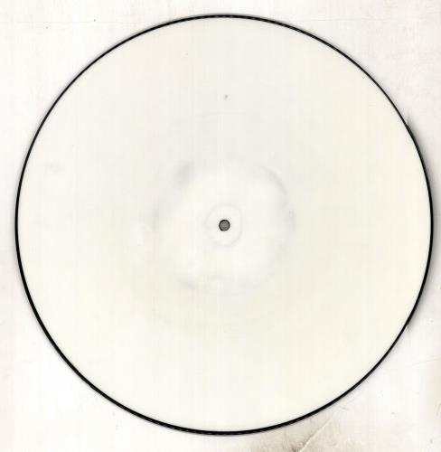 "Iron Maiden Holy Smoke - White Test Pressing 12"" vinyl picture disc 12inch picture disc record UK IRO2PHO25696"