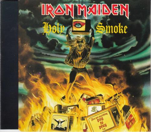 "Iron Maiden Holy Smoke CD single (CD5 / 5"") UK IROC5HO41216"