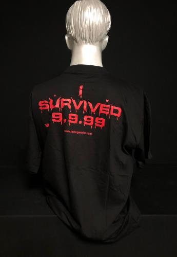 Iron Maiden I Survived 9.9.99 - XL t-shirt French IROTSIS720927