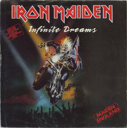 "Iron Maiden Infinite Dreams - EX 12"" vinyl single (12 inch record / Maxi-single) UK IRO12IN433940"