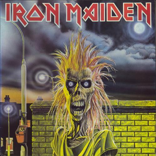 Iron Maiden Iron Maiden - 1st - EX vinyl LP album (LP record) UK IROLPIR566964