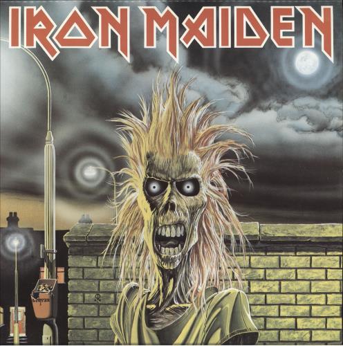 Iron Maiden Iron Maiden - Capitol vinyl LP album (LP record) Canadian IROLPIR746561