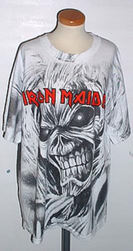 Iron Maiden Trooper Vintage Circle Grey