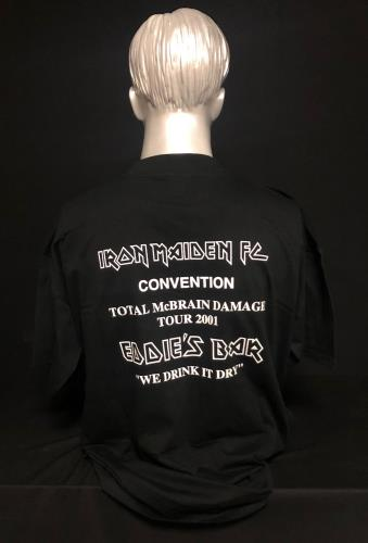 Iron Maiden Iron Maiden FC Convention - Eddie's Bar t-shirt Portugese IROTSIR718106