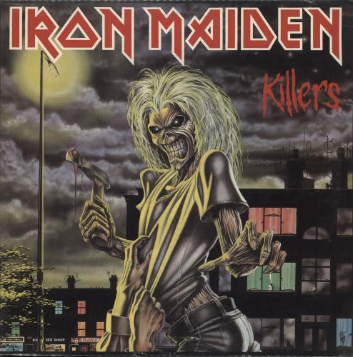 Iron Maiden Killers - Sealed vinyl LP album (LP record) Italian IROLPKI724462